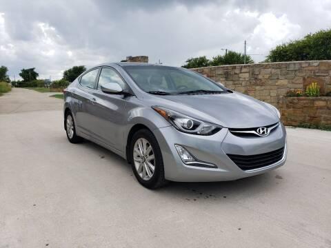 2015 Hyundai Elantra for sale at Hi-Tech Automotive - Kyle in Kyle TX