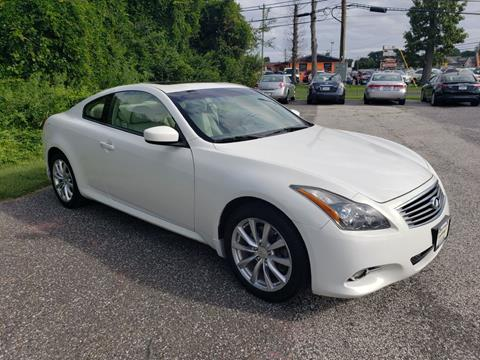 G37 Coupe For Sale >> 2012 Infiniti G37 Coupe For Sale In Williamstown Nj