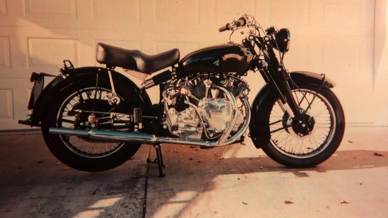 1953 Vincent Rapide Touring