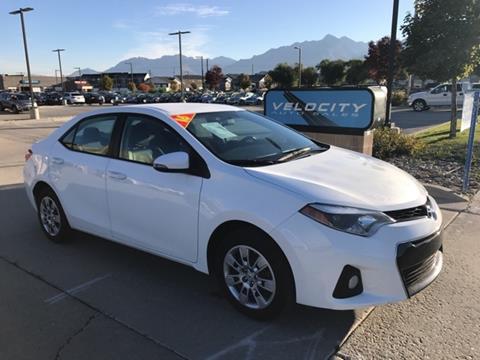 2016 Toyota Corolla for sale in Draper, UT