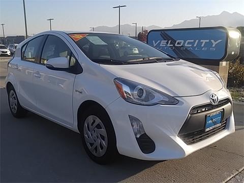 2016 Toyota Prius c for sale in Draper, UT