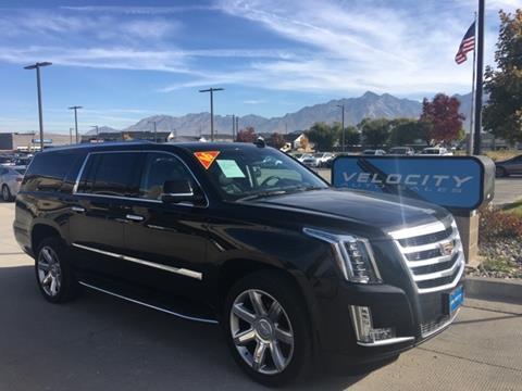 2016 Cadillac Escalade ESV for sale in Draper, UT