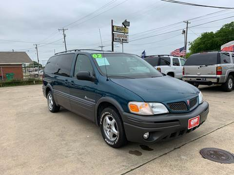 2002 Pontiac Montana for sale in Terrell, TX