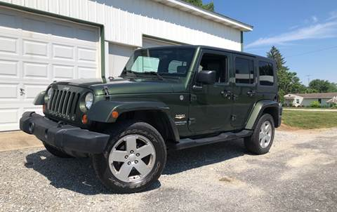 2007 Jeep Wrangler Unlimited for sale in Sidney, OH