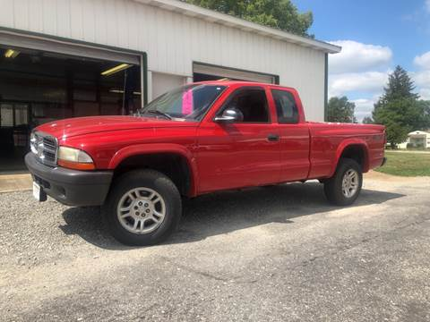Manual Trucks For Sale >> 2004 Dodge Dakota For Sale In Sidney Oh