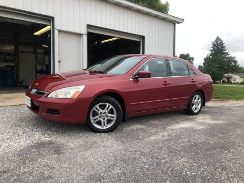 2007 Honda Accord for sale at Purpose Driven Motors in Sidney OH