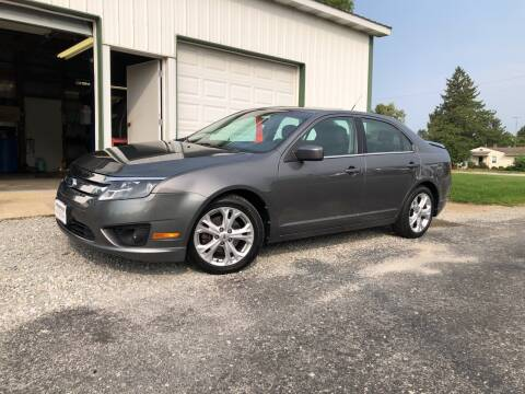 2012 Ford Fusion for sale at Purpose Driven Motors in Sidney OH