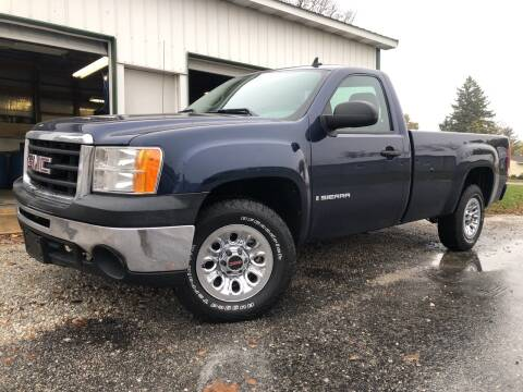 2009 GMC Sierra 1500 for sale at Purpose Driven Motors in Sidney OH