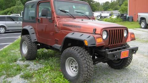 1997 Jeep Wrangler Sport for sale in Bomoseen, VT