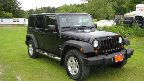 2007 Jeep Wrangler Unlimited for sale in Bomoseen, VT