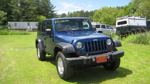 2010 Jeep Wrangler Unlimited for sale in Bomoseen, VT