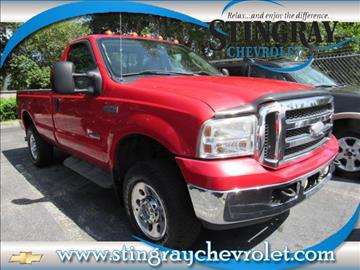 2005 Ford F-250 Super Duty for sale in Plant City, FL