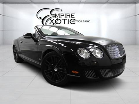 2011 Bentley Continental GTC for sale in Addison, TX