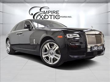 2015 Rolls-Royce Ghost Series II for sale in Addison, TX