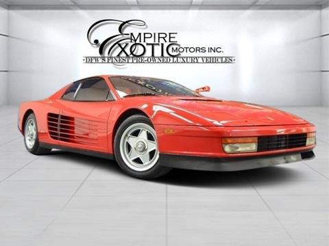 1986 Ferrari Testarossa for sale in Addison, TX