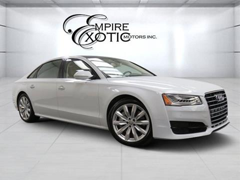 2017 Audi A8 L for sale in Addison, TX