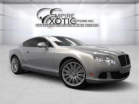 2012 Bentley Continental GT for sale in Addison, TX