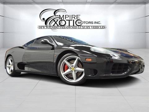 2001 Ferrari 360 Challenge Stradale