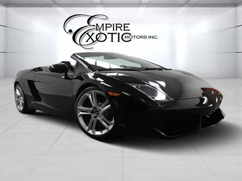 Beautiful 2010 Lamborghini Gallardo For Sale In Addison, TX