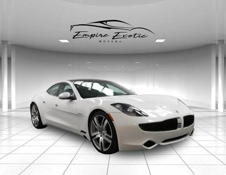 2012 Fisker Karma for sale in Addison, TX