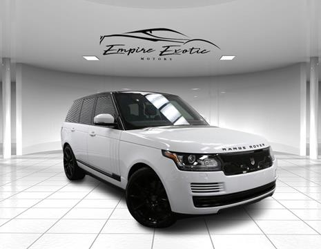 2017 Land Rover Range Rover for sale in Addison, TX