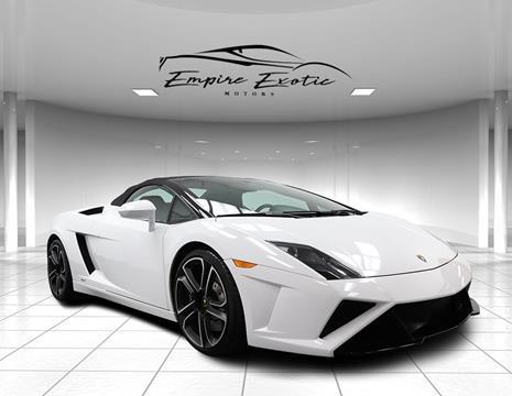 2014 Lamborghini Gallardo For Sale In Addison, TX