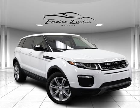 2016 Land Rover Range Rover Evoque for sale in Addison, TX