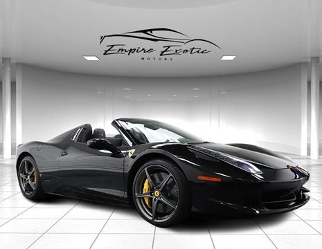2014 Ferrari 458 Spider >> Ferrari 458 Spider For Sale Carsforsale Com