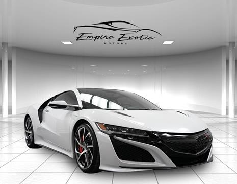 2017 Acura NSX for sale in Addison, TX