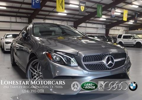 2018 Mercedes-Benz E-Class for sale in Addison, TX
