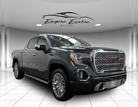 2019 GMC Sierra 1500 for sale at Empire Exotic Motors in Addison TX