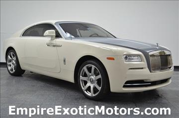2015 Rolls-Royce Wraith for sale in Addison, TX