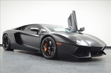 2012 Lamborghini Aventador for sale in Addison, TX