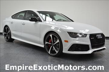 2016 Audi RS 7 for sale in Addison, TX