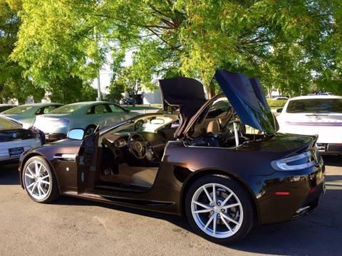 Marvelous 2013 Aston Martin V8 Vantage