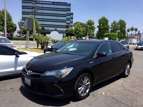 2015 Toyota Camry Hybrid for sale in Anaheim, CA