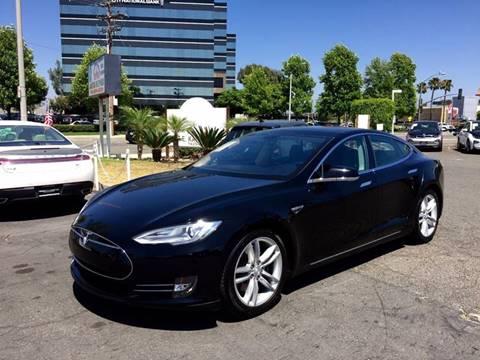 2013 Tesla Model S for sale in Anaheim, CA