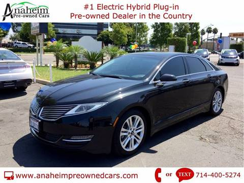 2015 Lincoln MKZ Hybrid for sale in Anaheim, CA