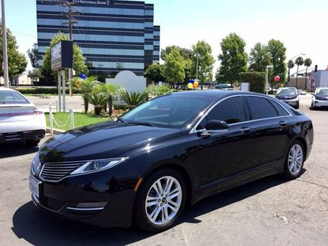 2016 Lincoln MKZ Hybrid for sale in Anaheim, CA
