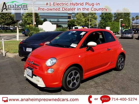 2014 FIAT 500e for sale in Anaheim, CA
