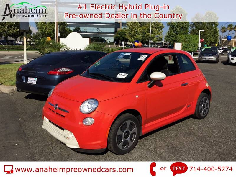2014 Fiat 500e 2dr Hatchback In Pomona Ca Anaheim Pre Owned Cars