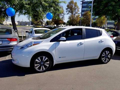 2014 Nissan LEAF for sale in Anaheim, CA