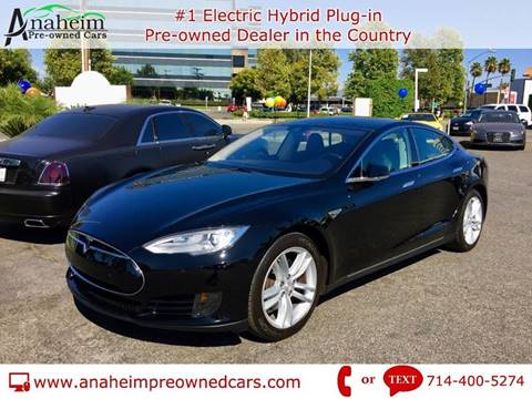 2015 Tesla Model S for sale in Anaheim, CA