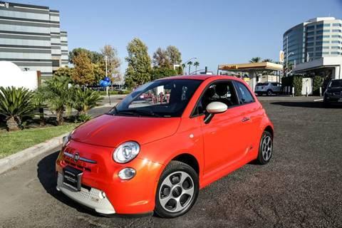 2015 FIAT 500e for sale in Anaheim, CA