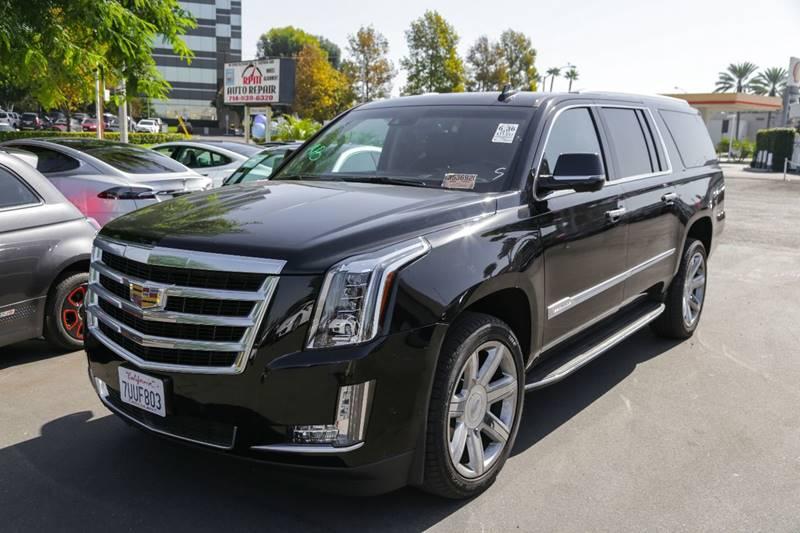 2017 Cadillac Escalade Esv 4x4 Premium Luxury 4dr SUV In Pomona CA