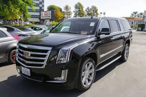 2017 Cadillac Escalade ESV for sale in Anaheim, CA