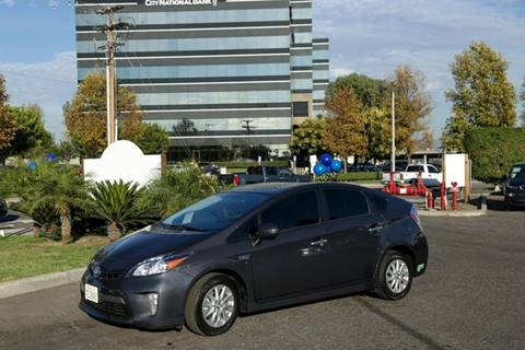 2014 Toyota Prius Plug-in Hybrid for sale in Anaheim, CA