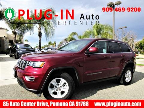 2017 Jeep Grand Cherokee for sale in Pomona, CA