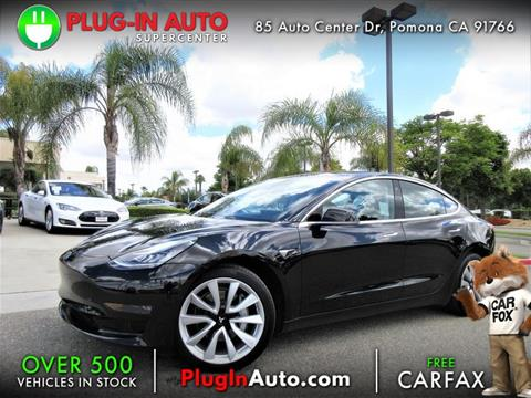 2018 Tesla Model 3 for sale in Pomona, CA