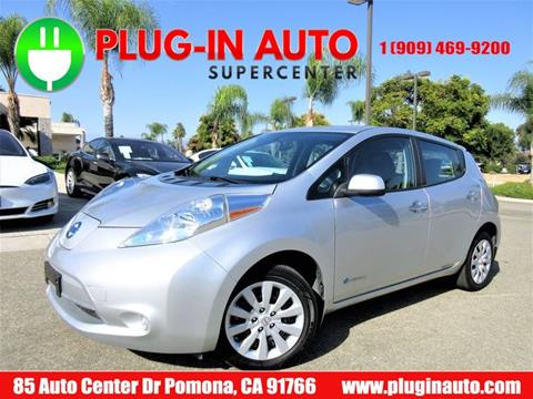 2016 Nissan LEAF for sale in Pomona, CA